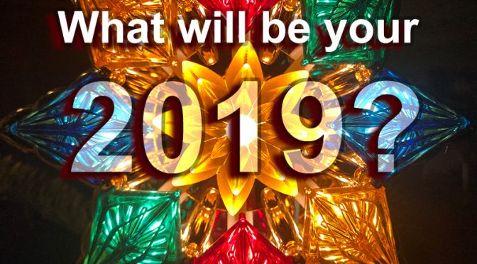 Photographers: What will be your 2019?