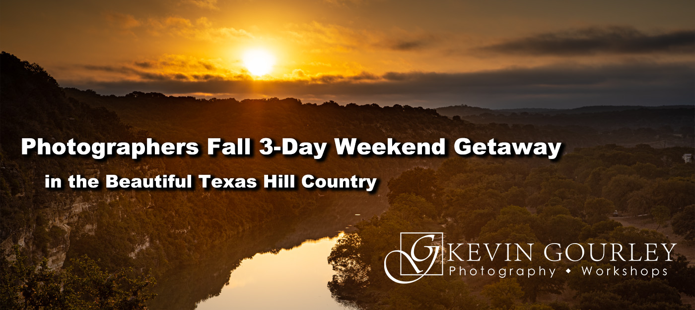 Photographers Fall 3-Day Weekend Getaway
