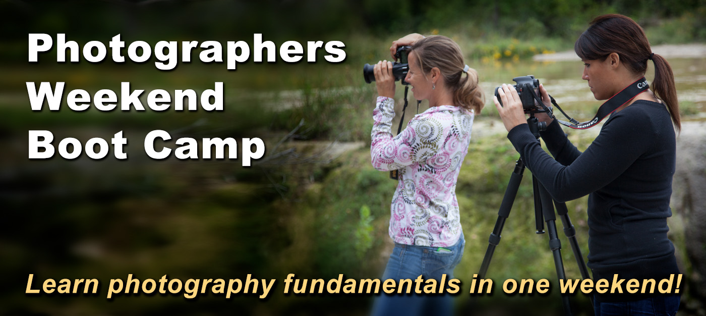 Photographers Weekend Boot Camp Austin Texas